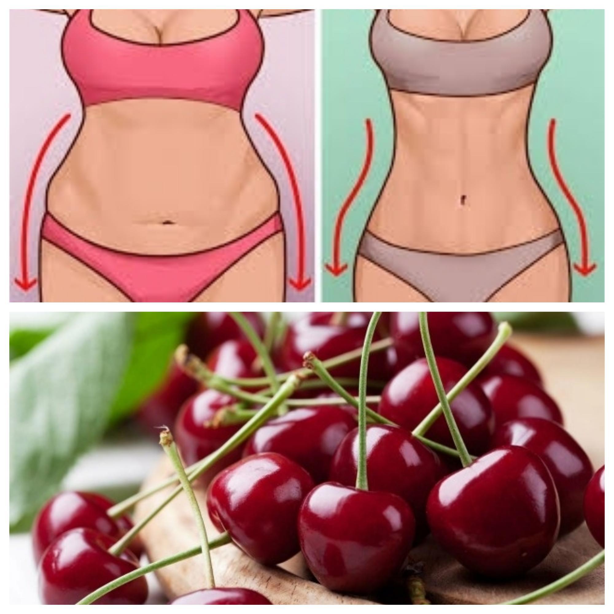 cireșele vă ajută să pierdeți în greutate
