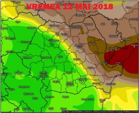 Vremea 12 mai. Prognoza meteo anunță zi frumoasă. De când revin ploile