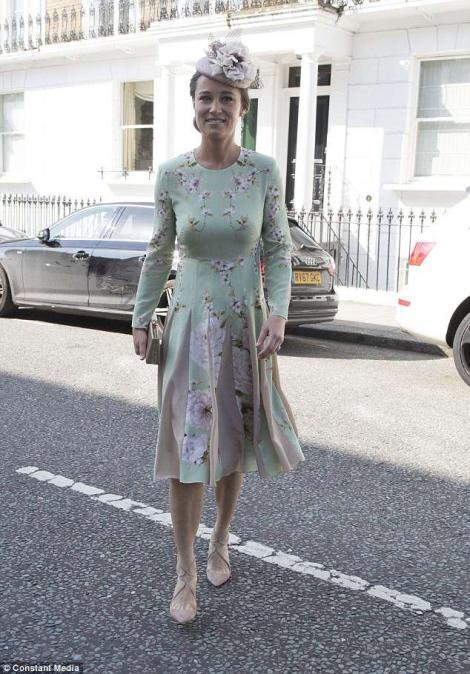 UPDATE: Pippa Midleton, sora ducesei de Cambrige, fermecătoare și.... însărcinată - FOTO