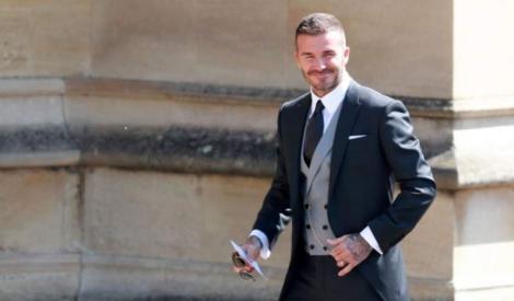 David Beckham, moment jenant la nunta regală! Englezii au fost șocați (VIDEO)