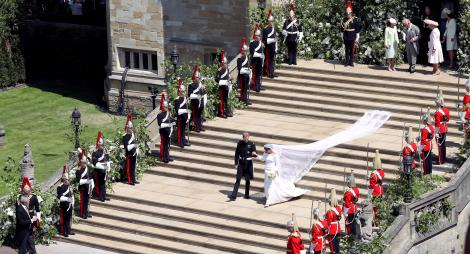 Omenirea a plâns de emoție! Imaginile de la nunta regală pe care nu ai voie să le ratezi!