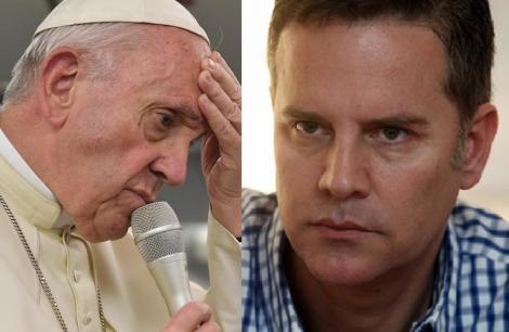 """Nimeni nu se aștepta! Ce i-a spus Papa Francisc unui bărbat homosexual, abuzat de un preot: """"Dumnezeu te-a făcut așa"""". Purtătorul de cuvânt al Vaticanului a refuzat să comenteze"""