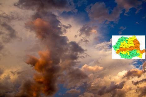 Vremea 25 mai. Prognoza meteo anunță furtună cu fulgere