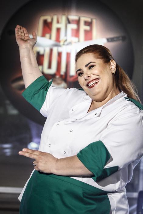 """Asul din mâneca lui Bontea! Cristina ascunde un secret ce îi poate aduce marele premiu de la """"Chefi la cuțite""""!"""