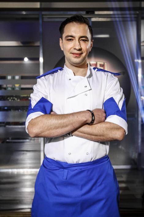 """Chef Florin Dumitrescu are o armă secretă! Robert va fi următorul câștigător al emisiunii """"Chefi la cuțite""""?"""