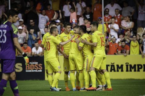 România, victorie marcă înregistrată cu Chile, după un amical cu multe goluri, răsturnări de situație și o eliminare. Budescu, omul decisiv