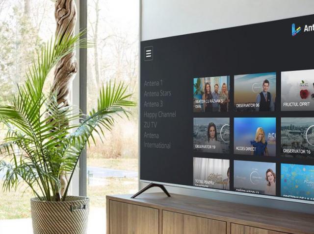AntenaPlay lanseazã o nouã aplicaţie pentru Smart TV