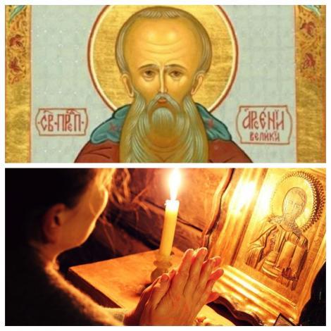 Calendar ortodox 8 mai. Rugăciunea Sfântului Arsenie, minuni pentru săraci și bolnavi
