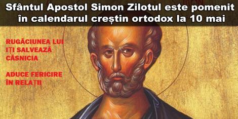 Calendar ortodox 10 mai. Rugaciunea acestui mare Sfânt îți salvează casnicia