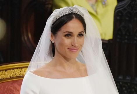 O asistentă medicală din SUA crede că este sosia lui Meghan Markle și spune că a avut o rochie mai frumoasă decât cea a ducesei. FOTO