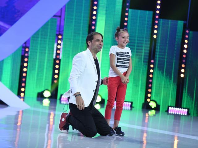"""Sâmbătă, 16 iunie, la Antena 1: Dan Negru, Lidia Buble, Pepe și Dorian Popa, luați peste picior de o fetiță, pe scena de la """"Next Star"""""""