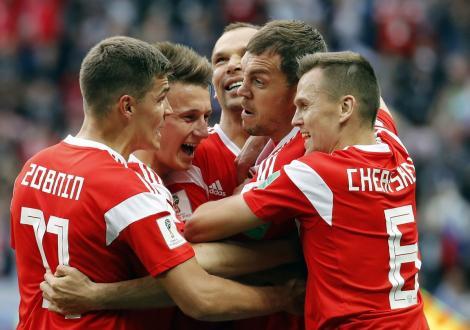 Campionatul Mondial de Fotbal Rusia 2018! Rusia se distrează cu Arabia Saudită în meciul de deschidere al Mondialului