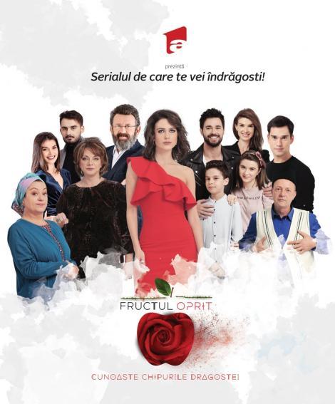 """Primul sezon al serialului """"Fructul oprit"""" ajunge, miercuri (20 iunie), la final"""