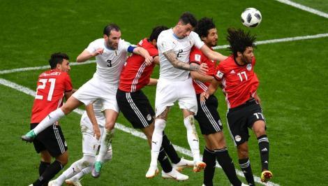 Campionatul Mondial de Fotbal Rusia 2018! Egipt, fără Salah, pierde în ultimul minut cu Uruguay