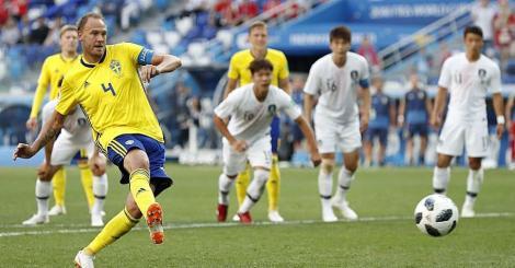 Campionatul Mondial de Fotbal Rusia 2018! Suedia - Coreea de Sud 1-0! VAR-ul aduce un gol în cel mai urât meci al Mondialului