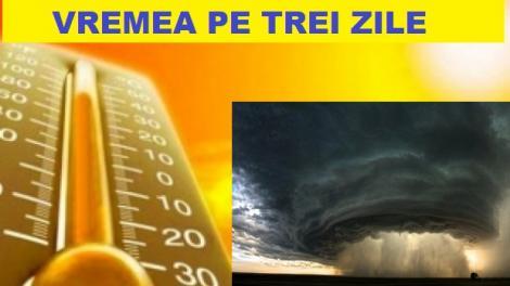 Prognoza meteo pe trei zile! Ce se întâmplă cu vremea, după valul de ploi
