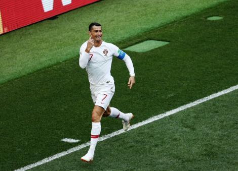 """Campionatul Mondial de Fotbal Rusia 2018! Cristiano Ronaldo își face datoria și în Portugalia - Maroc. Lusitanii se apropie de """"optimi"""""""