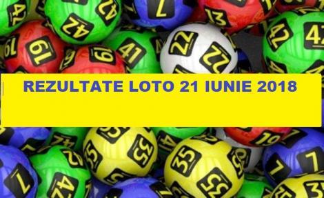UPDATE: Rezultate Loto 6 din 49, Loto 5 din 40, Joker și Noroc. Numere câștigătoare 21 iunie 2018
