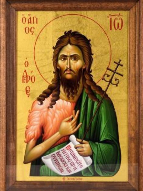 Sf Ioan Botezătorul, cea mai puternică rugăciune către acesta
