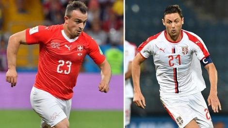"Campionatul Mondial de Fotbal Rusia 2018! Serbia - Elveția, grupa E. Adversara României din Liga Națiunilor, la 3 puncte de ""optimi"""