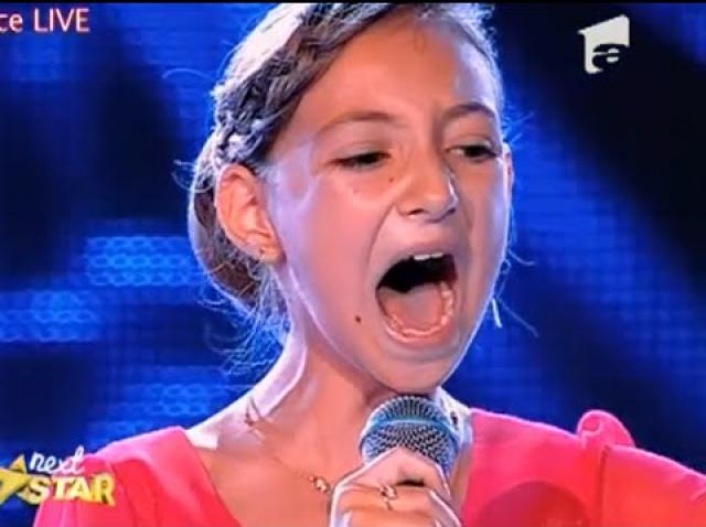 Fetița-fenomen de la Next Star, Elena Hasna, s-a făcut mare! Nu degeaba a fost numită Lara Fabian a României