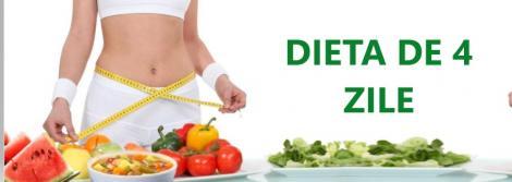 Slăbești 5 kilograme în 4 zile! Dieta care garantează rezultate
