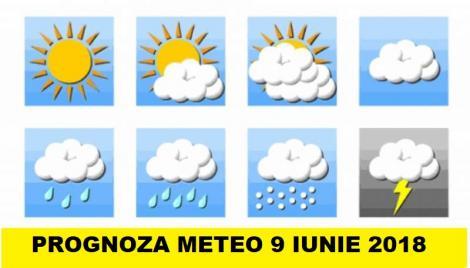 Vremea 9 iunie. Prognoza meteo anunță caniculă și furtuni cu fulgere!