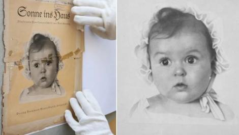"""Le-a râs în nas naziștilor cum nu a mai reușit nimeni! """"Bebelușul arian perfect"""" al propagandei naziste era, de fapt… 100% evreu! Ce s-a întâmplat cu fetița din imagine"""
