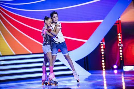 """Maria şi Anelin, vicecampioni mondiali la patinaj artistic au câştigat cea de-a cincea ediţie """"Next Star"""""""