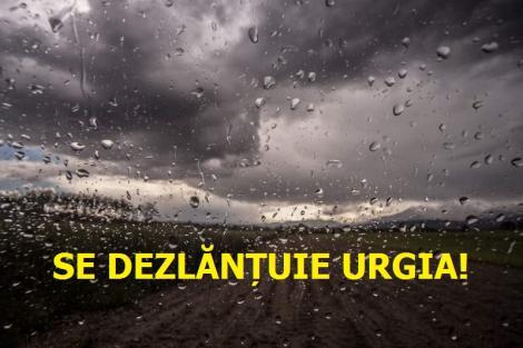 Se dezlănțuie URGIA peste România! Ce se întâmplă în următoarele ore