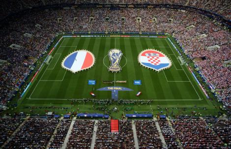Finala Cupei Mondiale 2018! Franţa a învins Croaţia cu scorul 4-2 şi a câştigat Cupa Mondială la fotbal (LIVE TEXT)