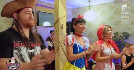 Echipa Poftiți la Nea Mărin a organizat cea mai frumoasă petrecere pentru o fetiță care și-a pierdut tatăl. Gina și Margherita, cele mai sexy prințese!