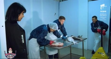 """Margherita și Claudiu Moroșanu versus depozitul de pește: """"Vedea-te-aș cu el în gură, cântând!"""""""