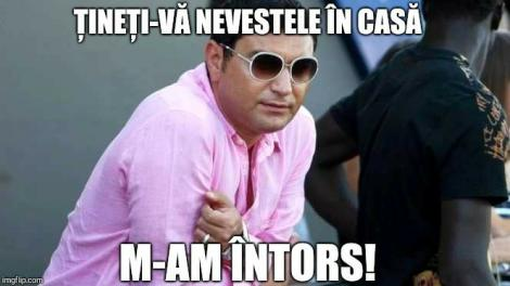 """Râzi cu lacrimi! Cele mai tari glume după ieșirea lui Cristi Borcea din penitenciar! Ce a scris Mara Bănică pe Facebook: """"Vor intra în insolvență!"""""""