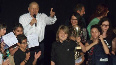 """Trofeul """"ALLEGRIA"""" câștigat de un copil de 11 ani din Ploiești"""