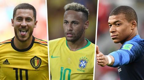 """Campionatul Mondial de Fotbal Rusia 2018! Cum arată tabloul favoritelor la câștigarea trofeului înainte de """"sferturi"""""""