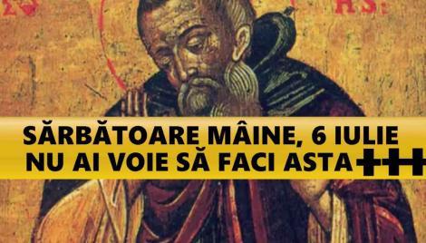 Calendar ortodox 6 iulie. Sfântul Sisoe, cel mai pomenit sfânt, face cele mai mari minuni