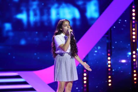 """SENZAȚIOOOONAL! Giulia Tabără a cântat piesa """"Who's Loving You"""" și i-a ridicat în picioare pe jurați! Dorian Popa: """"Sunt pur și simplu șocat. Scoate o piesă!"""""""