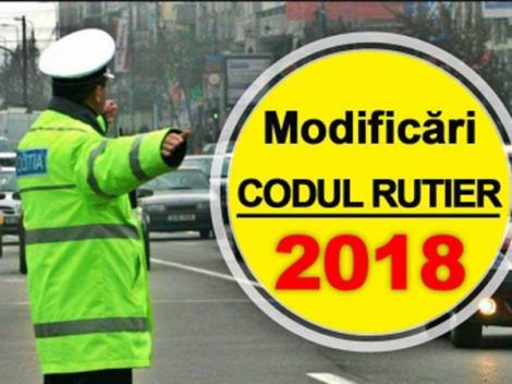 COD RUTIER 2018. Vestea aşteptată de toţi şoferii din România! Ce se întâmplă cu AMENZILE contravenţionale