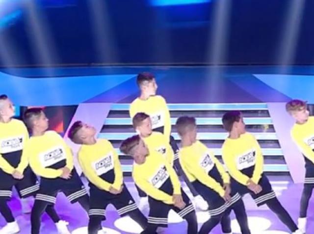 """Jurații au fost în extaz! Prichindeii de la """"Aqua Boys"""", moment de street dance spectaculos pe scena de la """"Next Star!"""""""