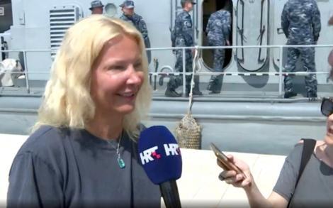"""Miracol! A căzut peste bord dintr-o navă de croazieră și a fost salvată după zece ore petrecute în apă! Mărturisirile sfâșietoare ale femeii de 46 de ani: """"Mă simt norocoasă!"""""""
