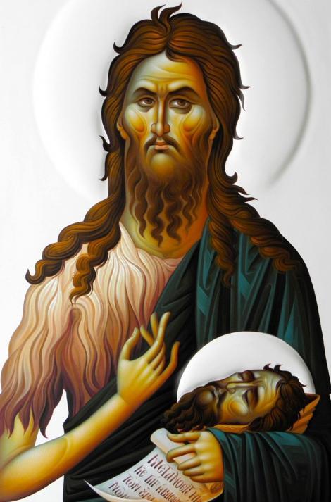 Canon de rugăciune la Praznicul tăierii Capului Sfântului Ioan Botezătorul