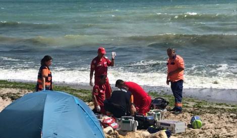 Doamne, ce tragedie! O copilă din București s-a înecat în mare