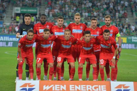 Rapid Viena - FCSB 3-1! Gigi Becali scoate 3 jucători din echipa lui Dică: unul nu știe să dribleze, altul e emotiv și ultimul fuge de joc