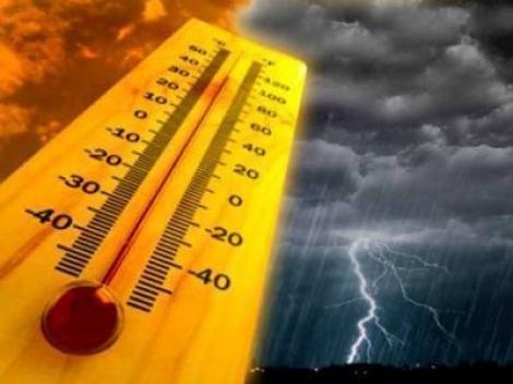 Vremea 28 august. Prognoza meteo - furtuni cu fulgere, risc de inundații