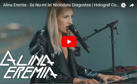 """Nimic mai frumos... Alina Eremia, COVER la pian pentru piesa """"Să nu-mi iei niciodată dragostea"""". VIDEO de senzaţie!"""