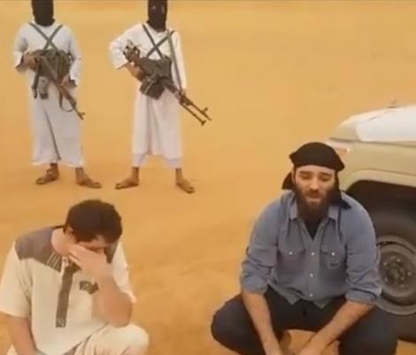 Primele imagini cu românul ținut OSTATIC în Libia! Ce au cerut răpitorii