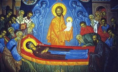 Sfânta Marie Mare. Legenda Adormirii Maicii Domnului