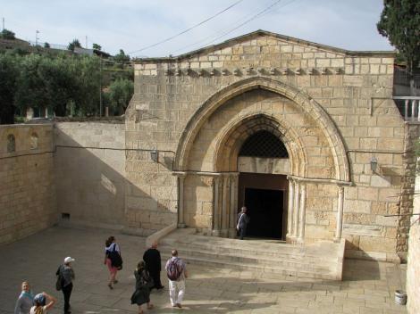 Adormirea Maicii Domnului. Mormântul de la Ierusalim al Fecioarei Maria
