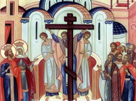 Calendar ortodox septembrie 2018. Când pică Înăltarea Sfintei Cruci